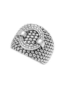 LAGOS Enso Diamond Circle Ring