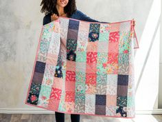 Like A Charm Dreamfield Quilt Kit featuring Lily & Loom Dreamfield | Craftsy