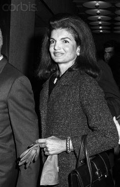 Jackie Kennedy at Whitney Museum - 42-23460095 - Rights Managed - Stock Photo - Corbis