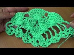 Unusual crochet stitch - foreign language but can still follow the video