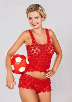 crochet top, crochet shorts for women, Womens lace corsets, T-shirts & Tops