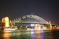 The most famous bridge in Australia, the Sydney Harbour Bridge
