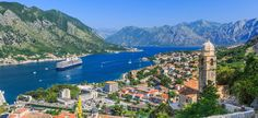The Kotor bay is one of the most beautiful places in Montenegro, it boasts the preserved Venetian fortress, old tiny villages, medieval towns.