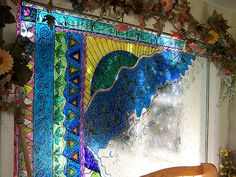 "MarveLes Art Studios: ""Stained Glass"" windows - the Gallery Glass way"