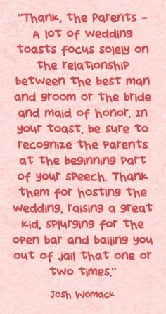 the best maid of honor speech