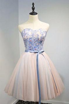 Charming Prom Dress, Elegant Prom Dress, Short Prom
