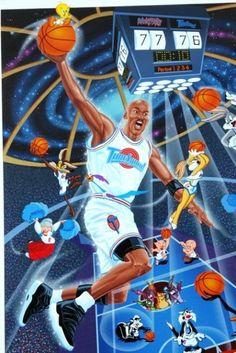 My all time favorite movie! Basketball Art, Basketball Pictures, Basketball Legends, Michael Jordan Art, Zapatillas Jordan Retro, Basketball Background, Best Nba Players, Jeffrey Jordan, Looney Tunes Cartoons