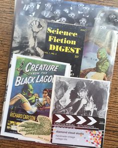 Creature from the Black Lagoon Vintage by diamondcloudstudio