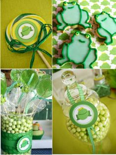 Little Frog Birthday Party Ideas