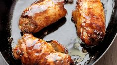 Sticky Glaze Chicken Thighs with Asian Stuffing - RTE Food