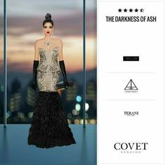 The Darkness of Ash - Covet Fashion
