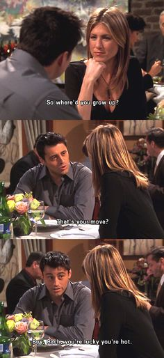 Friends - Joey & Rachel's date