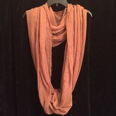Camel colored infinity scarf Lightweight camel colored infinity scarf. Bundle any 3 scarves and receive a free gift with purchase along with 15% bundle discount! Accessories Scarves & Wraps