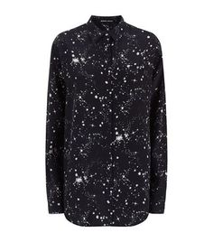 Markus Lupfer Cleo Constellation Silk Shirt available to buy at Harrods. Shop women's designer clothing online and earn Rewards points.