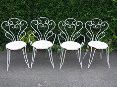 Furniture : Garden Chair Furniture Vintage White Outdoor Gardening .