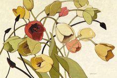 "SHIRLEY NOVAK: ""Tulip Toss"""