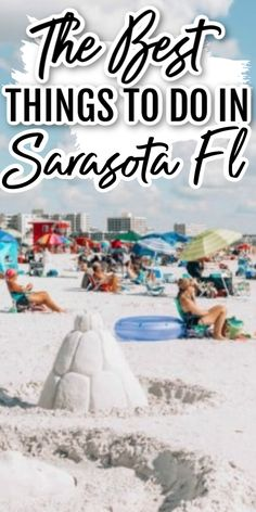 Things To Do In Sarasota Florida - Looking for places to go in Sarasota? From award winning beaches to sunset cruises, these are some of our favorite Sarasota Florida attractions! Clearwater Florida, Sarasota Florida, Florida Usa, Florida Travel, Florida Beaches, Travel Usa, South Florida, Siesta Key Florida, Beach Trip