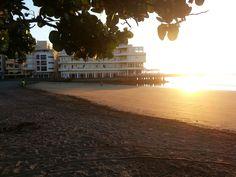 Sunrise in El Médano Tenerife