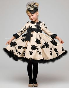 Shop Graci fashion for girls, including pretty printed dresses and luxury accessories. Little Girl Outfits, Little Girl Dresses, Kids Outfits, Girls Dresses, Flower Girl Dresses, Flower Girls, Fashion Kids, Little Girl Fashion, Toddler Fashion