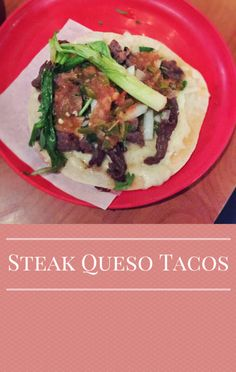 Marcela Valladolid came up with a clever way to make the cheese on your tacos crispy and gooey. Try her Steak Queso Taco recipe from The Talk. http://www.foodus.com/the-talk-marcela-valladolid-steak-queso-taco-recipe/