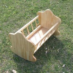 Doll's Rocking Cradle Woodworking Plan by Dave