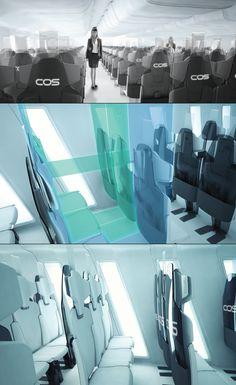COS - Aircraft Cabin Interior Design by Jan Meissner » Yanko Design