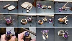 Joli-Design: Basket setting ring, bague panier