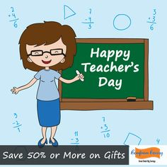 Happy Teachers Day Save 50% or more on Gifts Claim Now:  http://www.couponcanny.in/teacher's-day-deals/