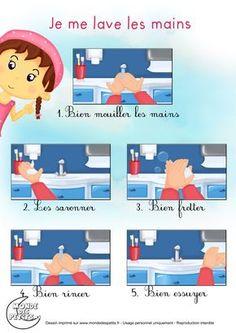 Partition_Je me lave les mains