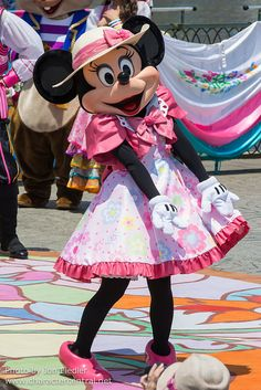 2014 - Lido Isle Welcome to Spring - Minnie Mouse