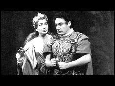 Norma Last Act Duet by Maria Callas & Mario Del Monaco (June 29, 1955)