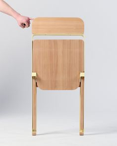 knauf & brown: profile folding chair