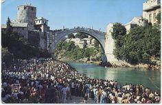 Bosnia, Mostar postcards