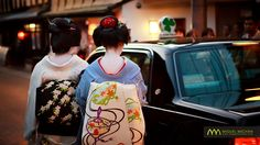 Maiko & Geiko taxi : Kyoto, Japan / Japón | by Lost in Japan, by Miguel Michán