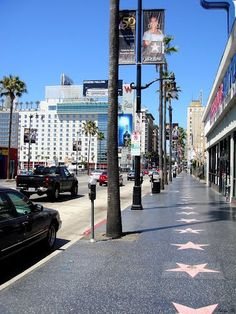 Los Angeles ~ Hollywood Blvd.