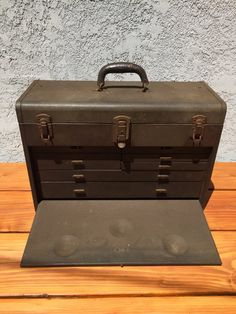 Vintage Kennedy Model 520 Metal Machinist Tool Chest by Speckadoos