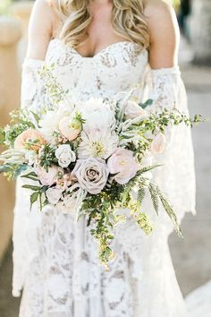 Beautifully Romantic Bohemian Wedding Inspiration