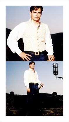 """Claudio from Much Ado About Nothing (Robert Sean Leonard) also known as """"Monsieur Love. Robert Sean Leonard, I Robert, Freddy Rodriguez, Oh Captain My Captain, Kenneth Branagh, Elvis And Priscilla, Dead Poets Society, House Md, Hugh Laurie"""