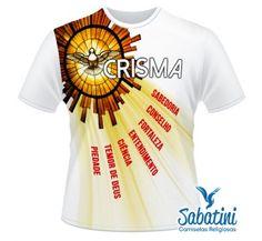 Camiseta Crisma - Mod.012
