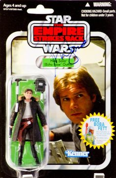 Amazon.com: Star Wars 3.75 inch Vintage Figure Han Solo (Echo Base Outfit): Toys & Games