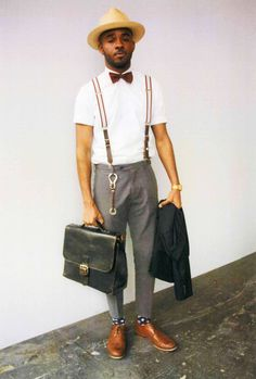 Self Style: London Collections: Men   Selfridges.com #ManAboutTown