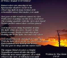 IT WILL MAKE YOU SMILE - Spiritual Poetry