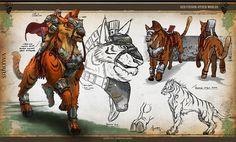 More art on the creature Valerius
