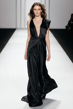 J.Mendel - You can never go wrong with the Black Dress