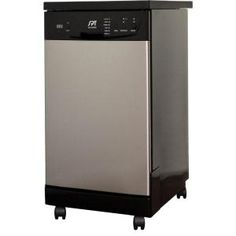 SPT 18 in. Front Control Portable Dishwasher in Stainless Steel with Energy Star-SD-9239SS at The Home Depot