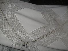 toalhas de mesa de jantar com entre meios em croche - Pesquisa Google
