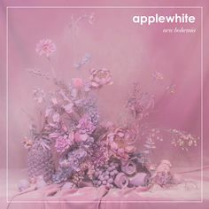 Cover art for newest applewhite album