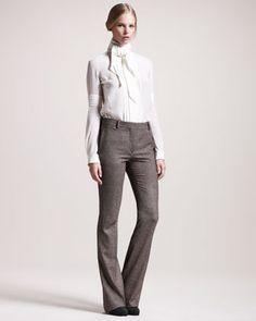 Derby Stretch-Tweed Trousers by Belstaff at Bergdorf Goodman.