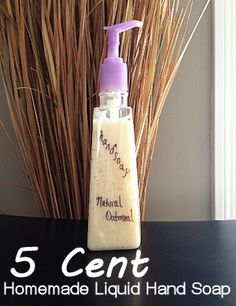 DIY Liquid Hand Soap For as Little as 5 Cents, I like the second option with coconut oil