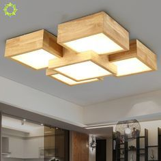wood ceiling light creative bedroom lamp style solid wood ceiling lamp aisle lighting for living roo Home Ceiling, Ceiling Lamp, Ceiling Lights, Wood Lights, Ceiling Light Design, False Ceiling Design, Wooden Ceiling Design, Plafond Design, Wooden Ceilings